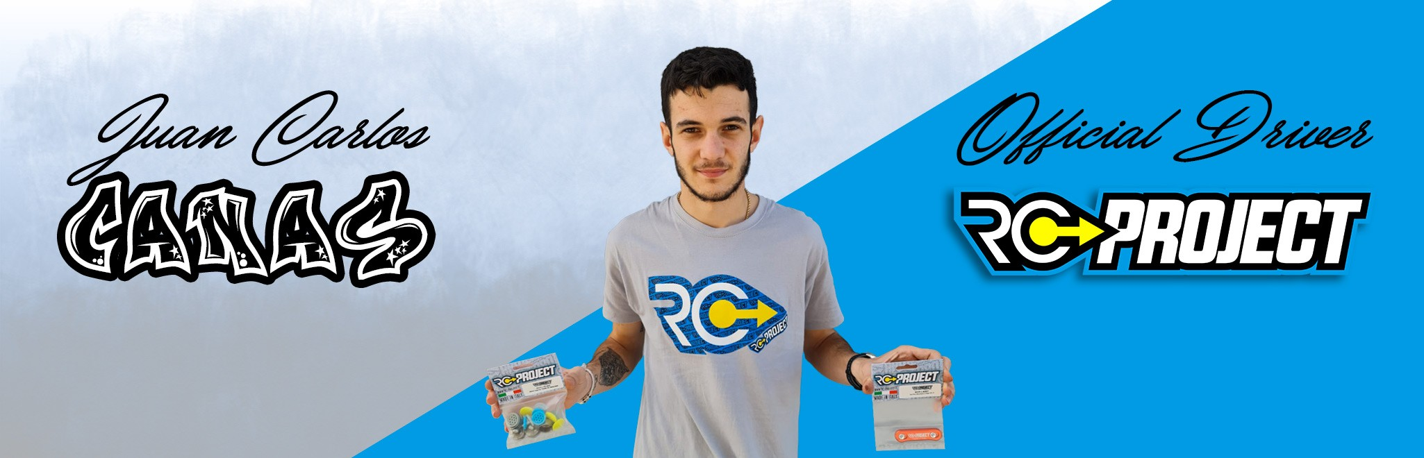Juan Carlos Canas joins RC-Project.it